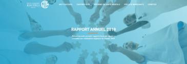 Notre rapport annuel 2019 est en ligne !